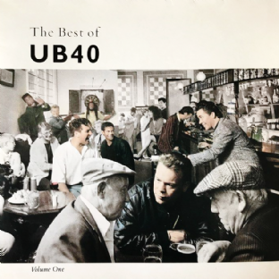UB40 - The Best Of UB40 Volume One (LP) (VG-/VG-)